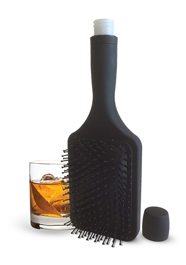 Smuggle Your Booze Brush Flask Image 0