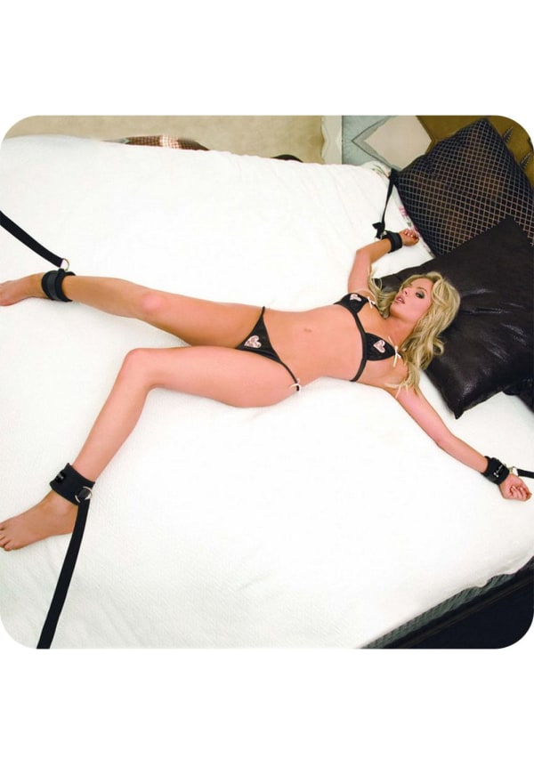 7 Piece Bed Spreader Restraint System Image 0
