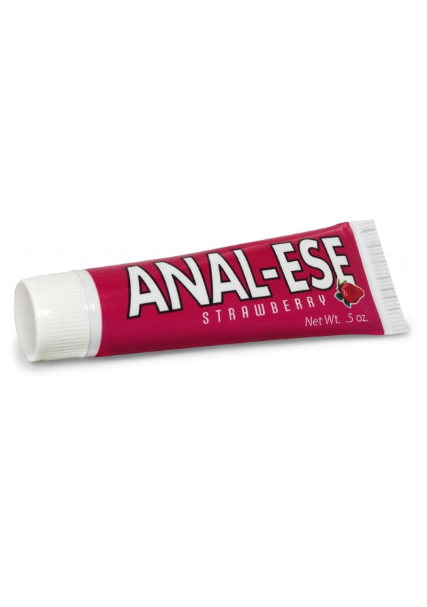 Anal-Ese Cream - Strawberry Flavor Image 0