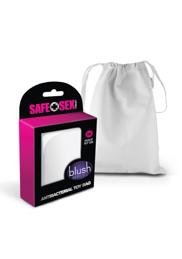 Safe Sex Antibacterial Toy Bag Image 1