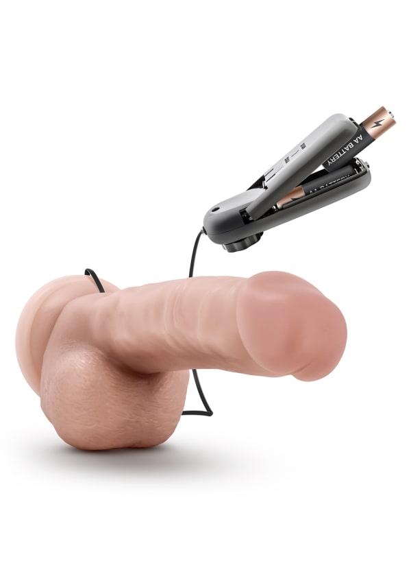 "Dr. Skin - Dr. Jay - 8.75"" Vibrating Cock with Suction Cup Image 3"