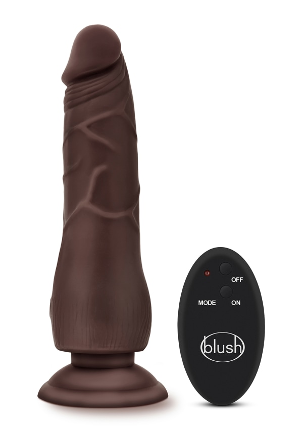 "Dr. Skin - 9"" 10 Function Wireless Remote Dildo Image 3"