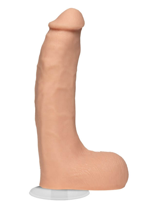Signature Cocks - Chad White 8.5 Inch ULTRASKYN Cock with Removable Vac-U-Lock Suction Cup Image 0