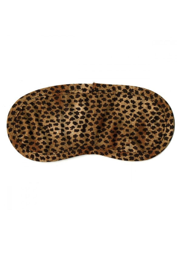 Cheetah Safari Eye Mask Image 0