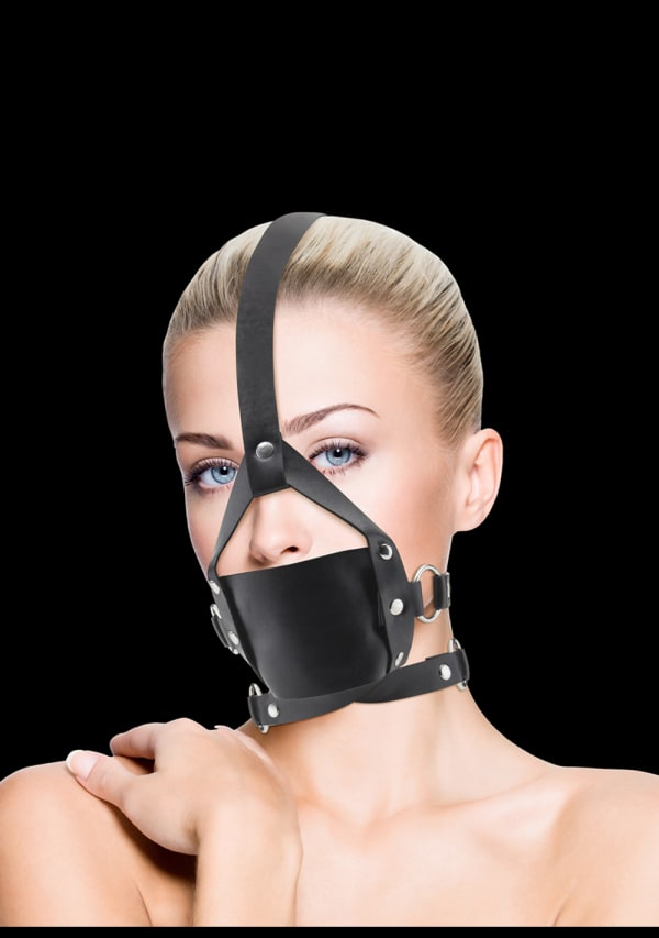 Ouch! Leather Mouth Gag Image 3