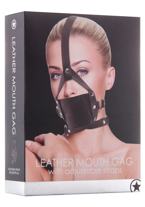 Ouch! Leather Mouth Gag Image 2