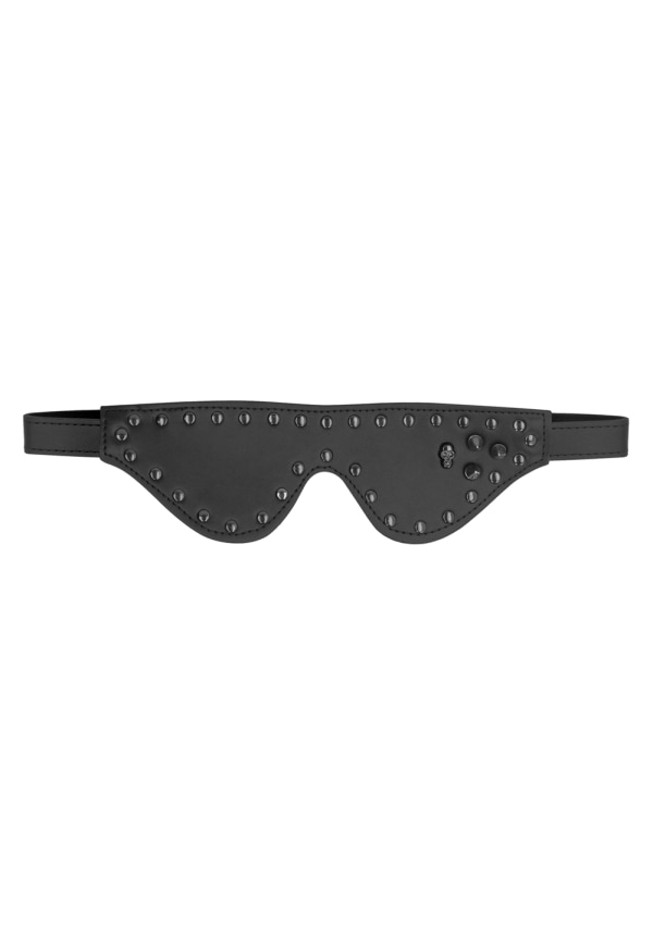 Ouch! Skulls and Bones - Skulled, Spiked and Studded Eye Mask Image 1