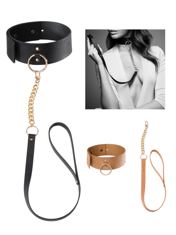 MAZE Wide Choker and Leash Image 0