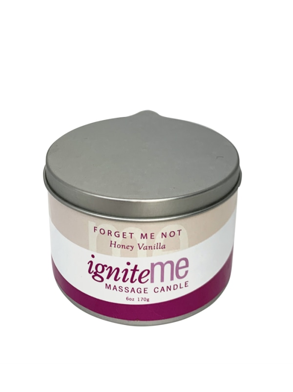 Ignite Me Massage Candle Forget Me Not (Honey Vanilla) Image 0