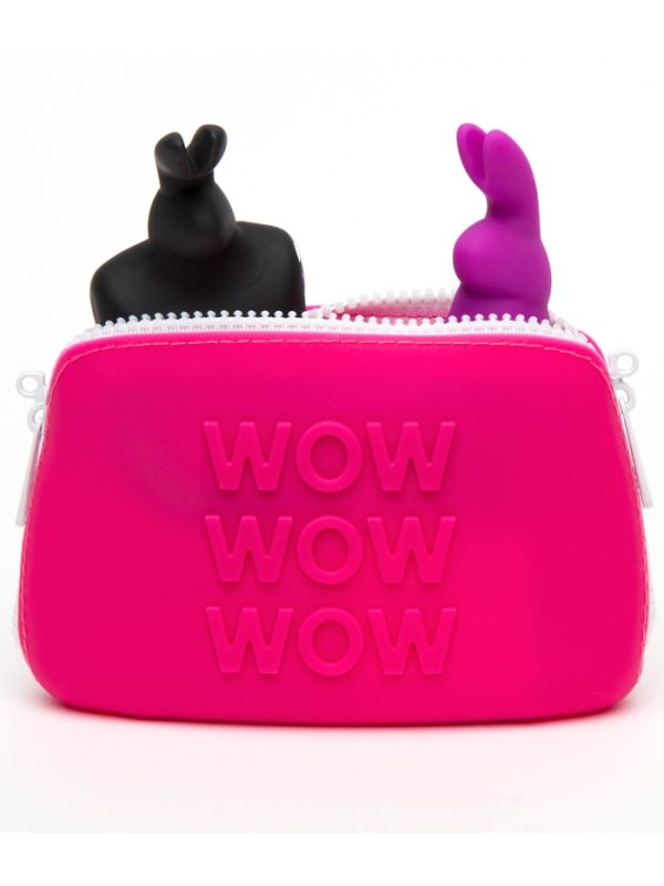 Happy Rabbit Silicone Storage Case Image 1