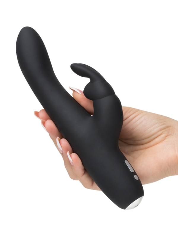 Fifty Shades Greedy Girl Slimline Rabbit Vibrator Image 3