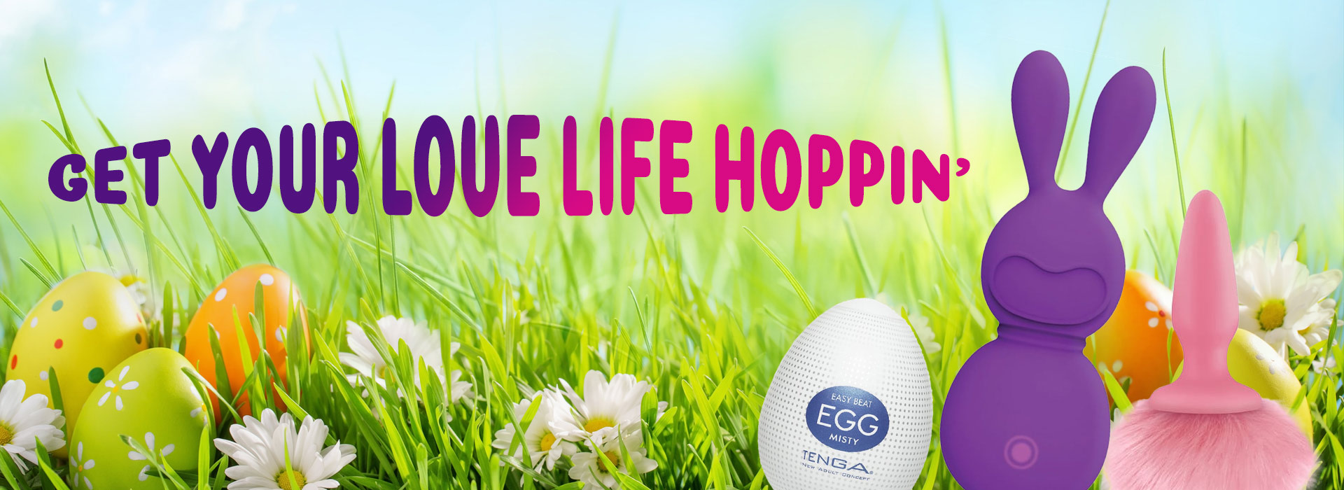 Get Your Love Life Hopping with these Eggs and Rabbits