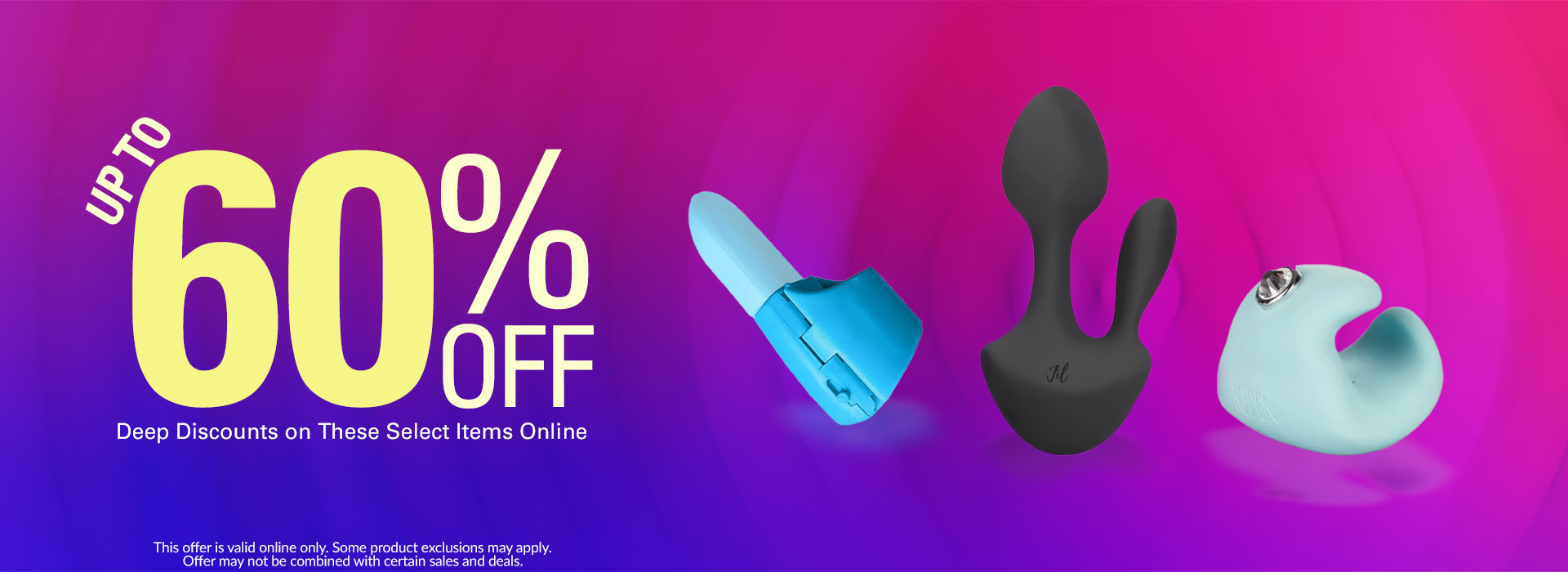 Up to 60% Off Select Products Online