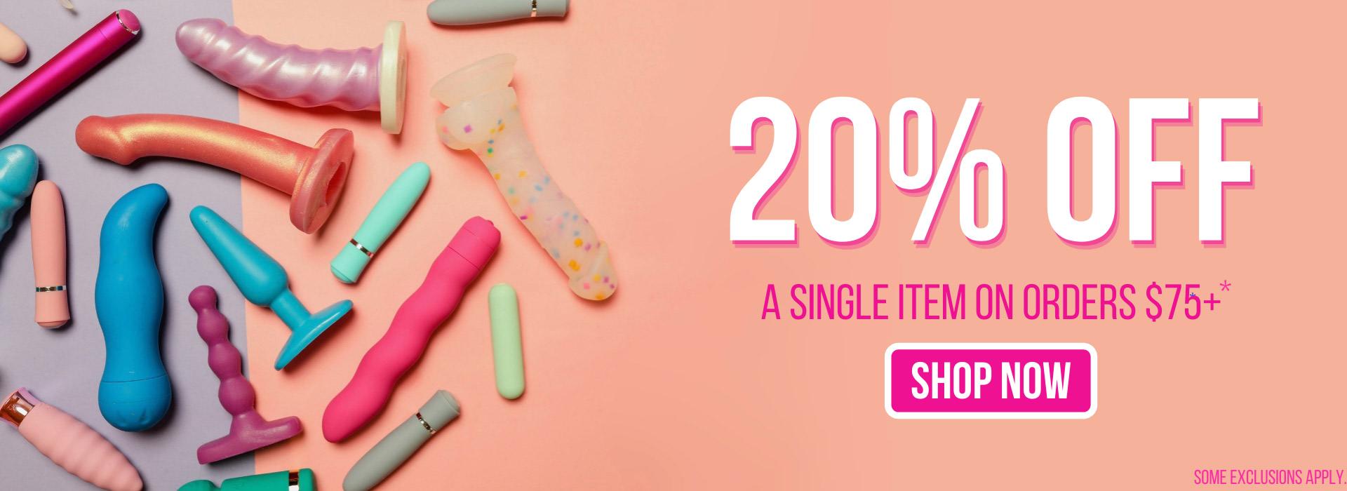 20% Off a Single Item