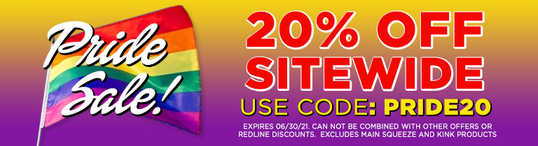 Use Code PRIDE20 for 20% off Sitewide