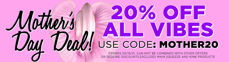 Use Code MOTHER20 for 20% Off Promo
