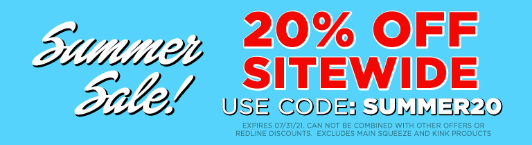 Use Code SUMMER20 and Save 20% Off
