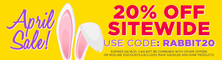 Use Code RABBIT20 for 20% off sitewide