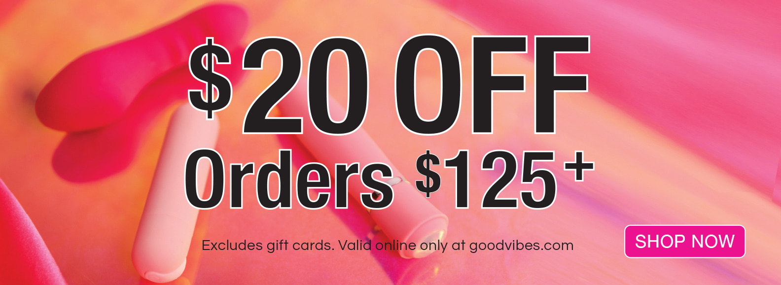 $20 Off Orders of $125+