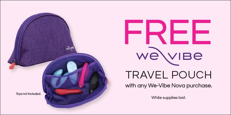 We-Vibe Gift With Purchase of Nova Vibrator