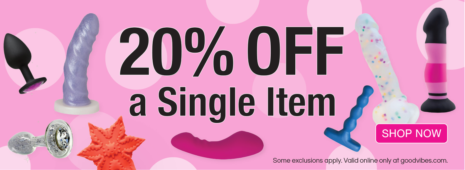 20% Off a Single Item with $75 minimum order