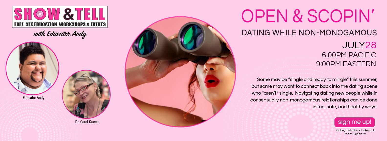 Open & Scopin' Virtual Event