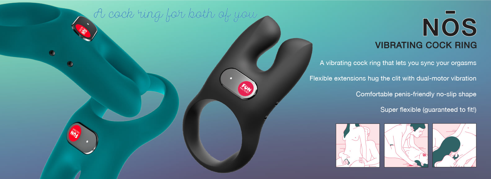 NOS Vibrating Ring from Fun Factory