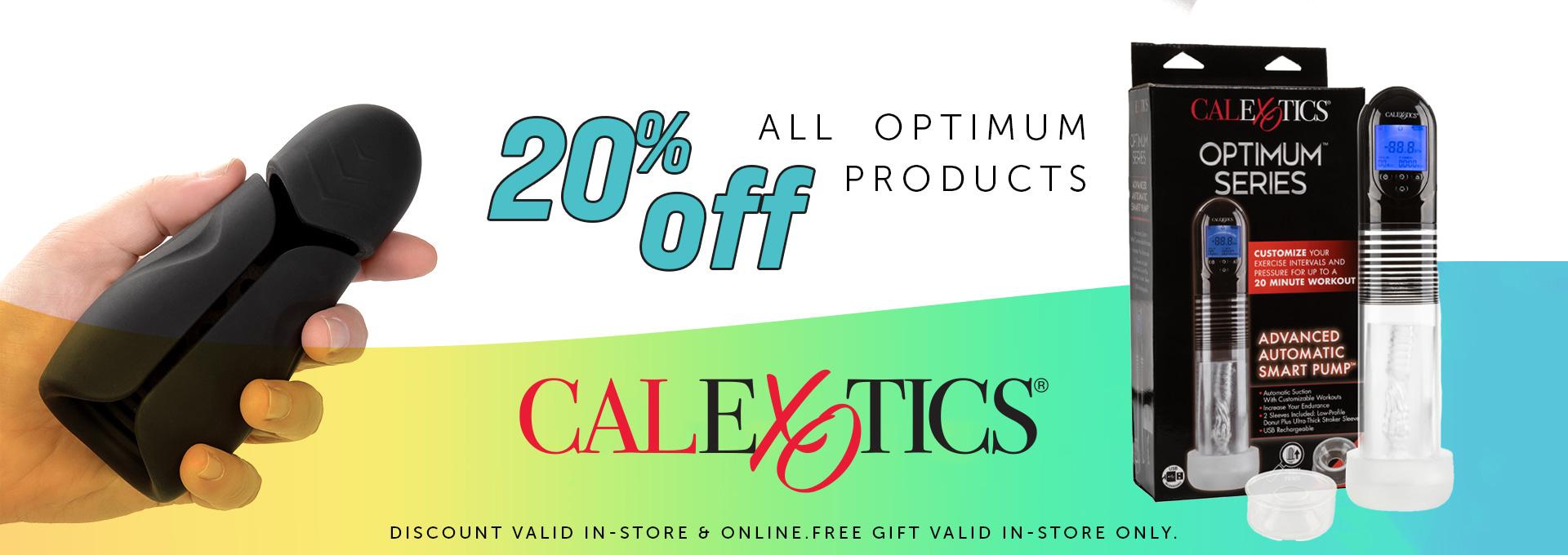 20% OFF Optimum by CalExotics