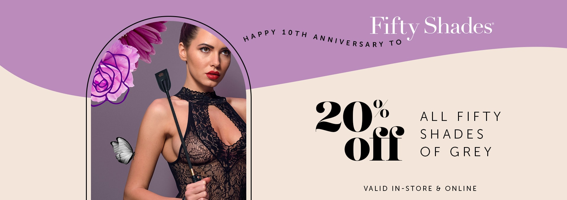 20% OFF Fifty Shades of Grey
