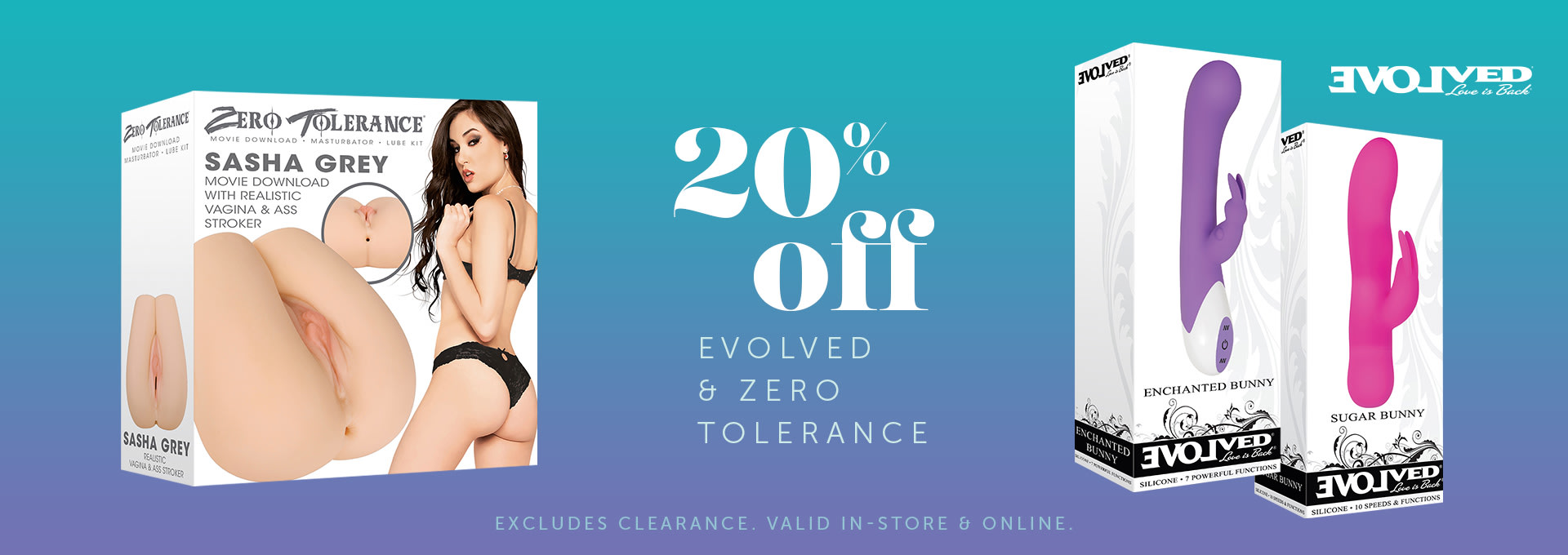 20% Off All Zero Tolerance Products