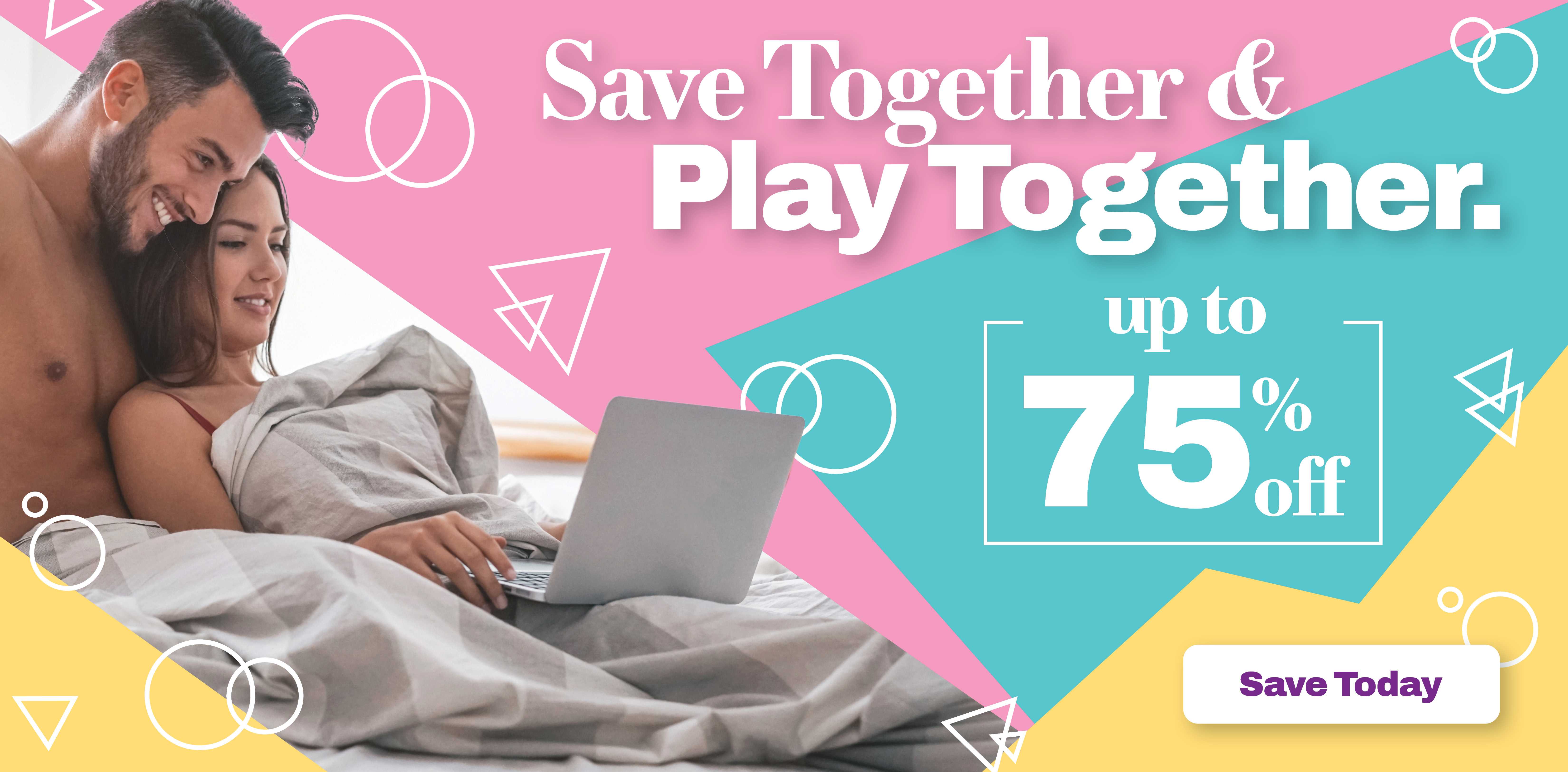 Spring Sales up to 75% Off!