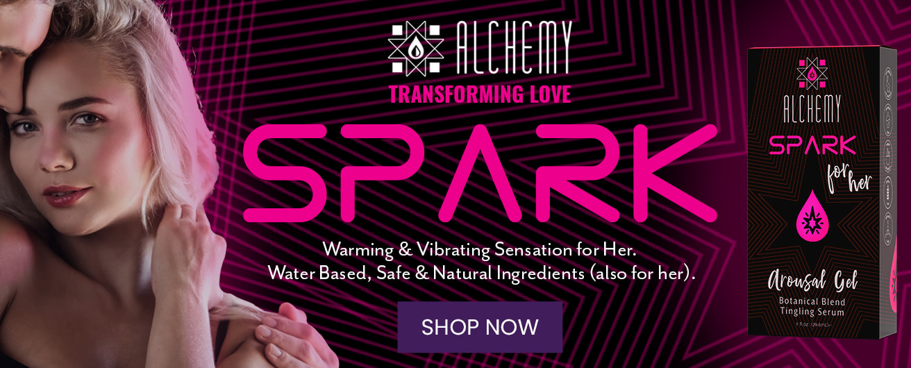 Alchemy's Spark for Her Arousal Gel delivers warming and vibrating sensations straight to where she wants it most.