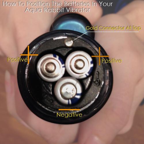 Aqua Rabbit Vibrator Batteries