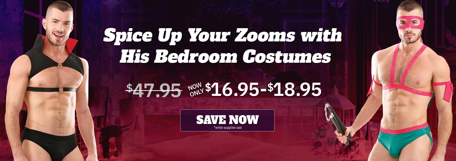 Bedroom Costumes for Men on Sale