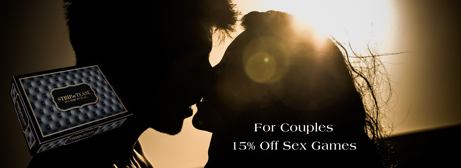 For Couples - 15% off all Sex Games
