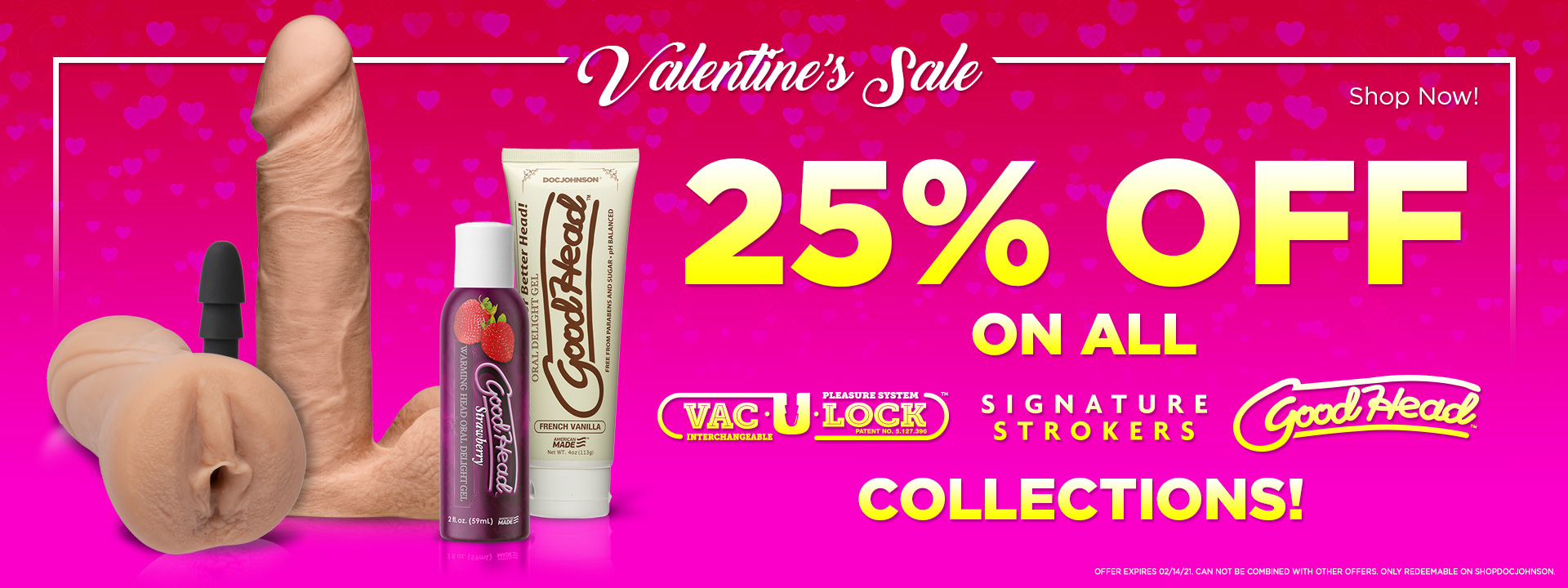 Vaentine's Sales for Him, Her and Couples