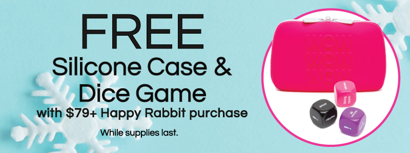 Happy Rabbit Gift With Purchase