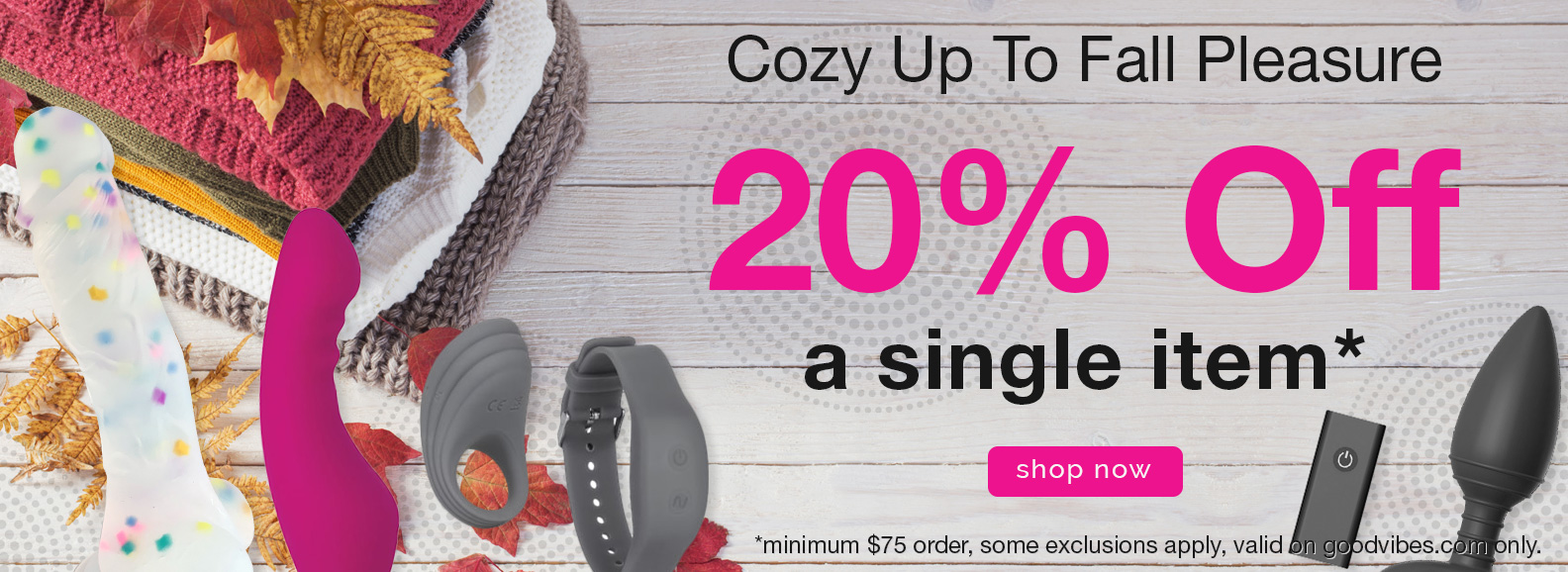 20% Off a Single Item