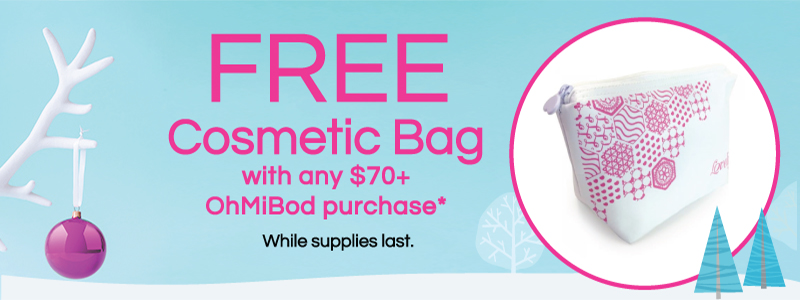 Free Gift with $70 OhMIBod Purchase