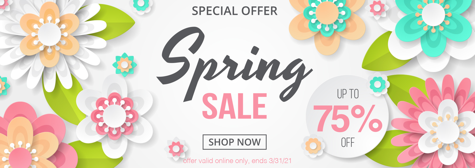 Spring SALE - Up to 75% OFF!