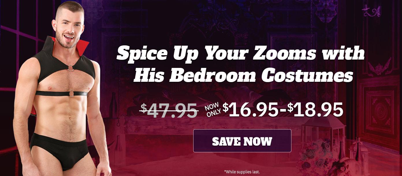 Men's Bedroom Costumes On Sale