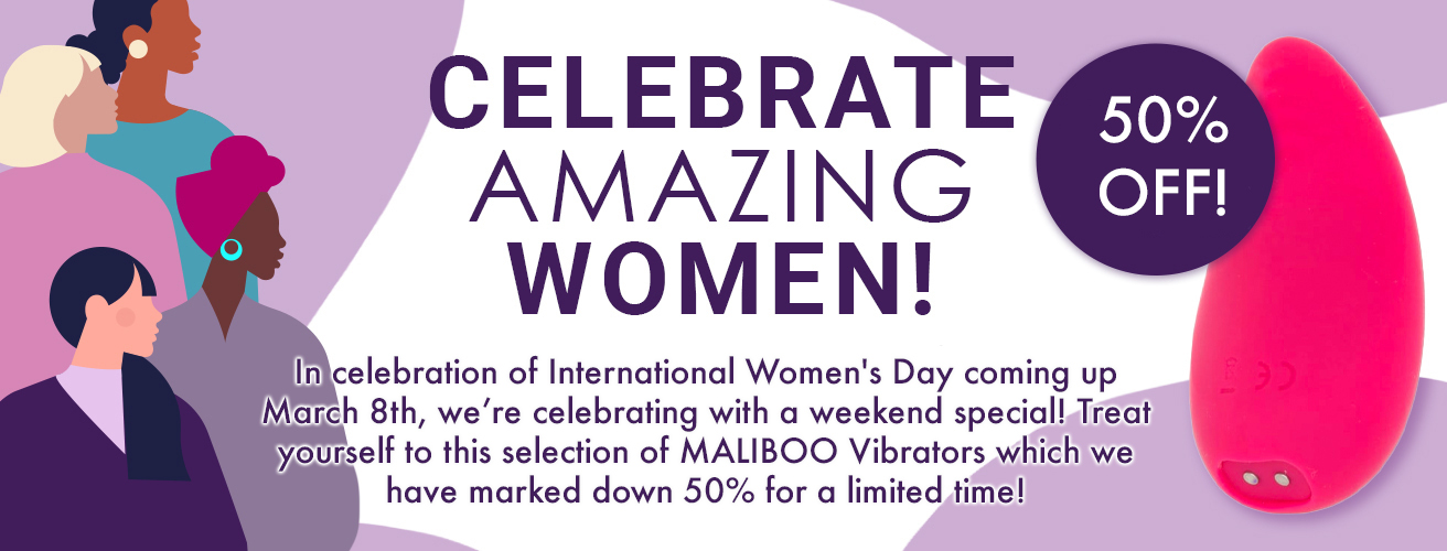 International Women's Day Flash Sale all Maliboo Brand 50% off was $117.95 now only $57.95