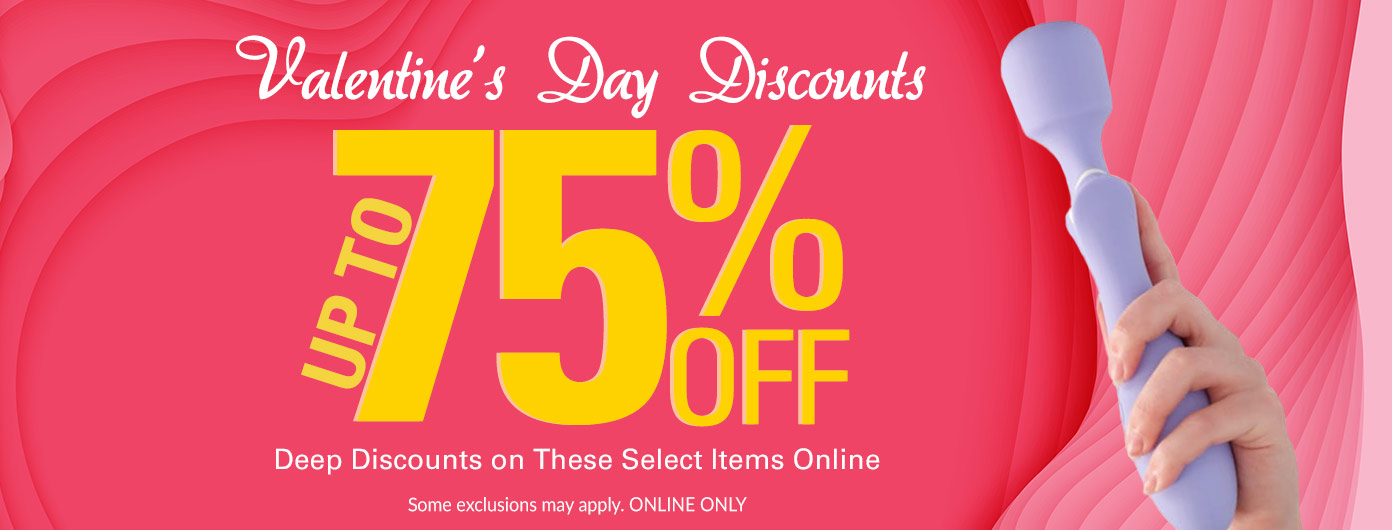 January Sales up to 75% Off!