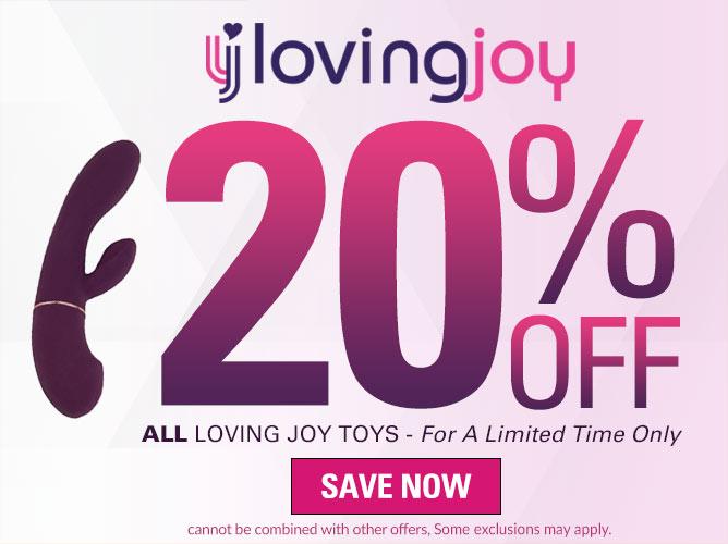 20% Off Loving Joy Toys