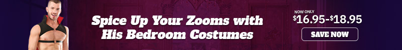 Costumes for Men was $49.95 now only $16.95-1895  *while supplies last