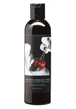 Edible Massage Oil - Cherry 8 oz.