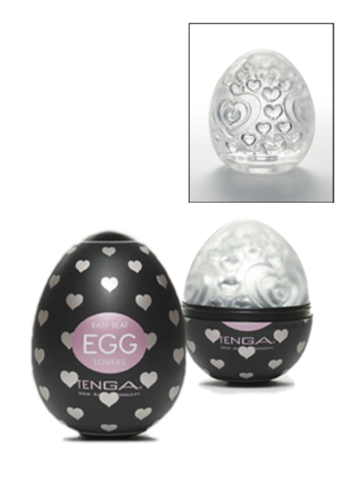 Tenga Lover's Egg Masturbation Sleeve Image 0