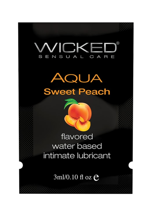 Wicked Aqua Sweet Peach Lubricant Image 2