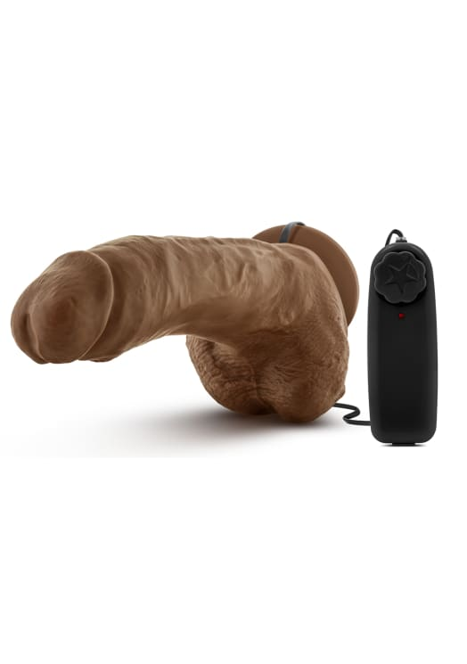 "Loverboy - The Boxer - 9"" Vibrating Realistic Cock Image 2"