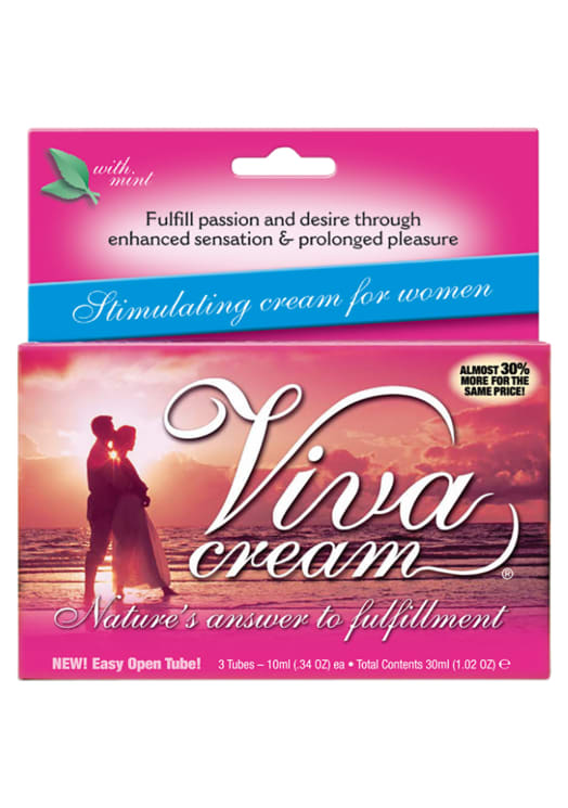 Viva Cream - 3 Tube Box Image 0